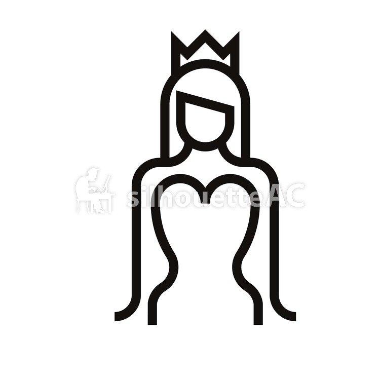 750x750 Free Silhouette Vector Fairy Tale, Princess
