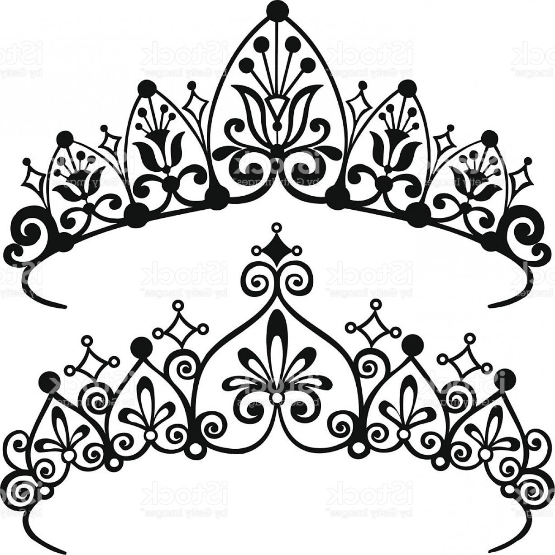1226x1228 Princess Tiara Crowns Silhouette Vector Illustration Gm Createmepink