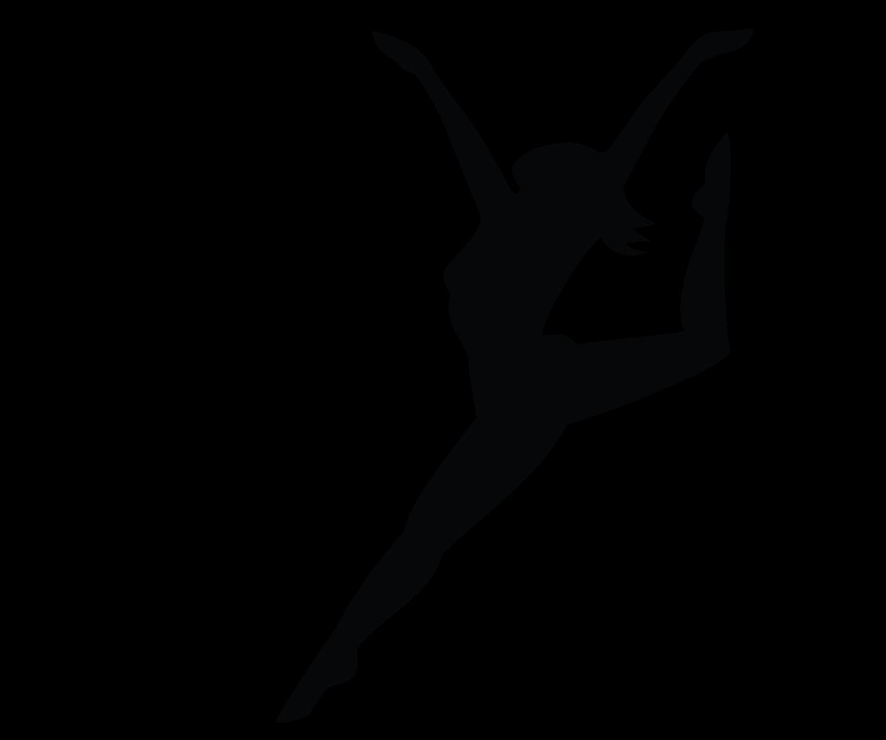 Printable Ballerina Silhouette