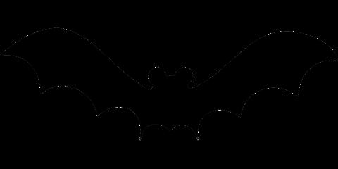 480x240 Flying Bat Template Free Printable Papercraft Templates