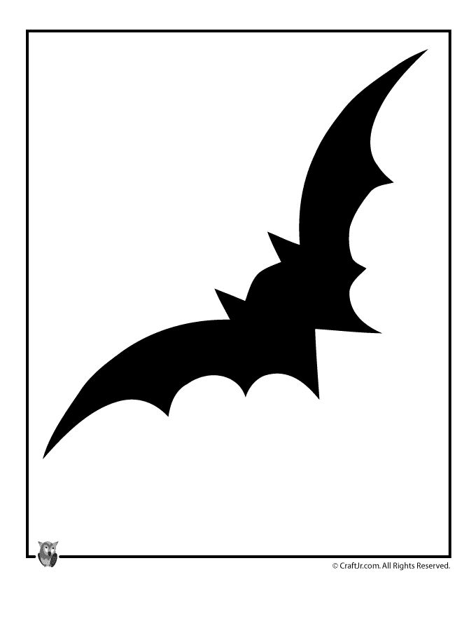 Printable bat silhouette at getdrawings free for personal use 680x880 halloween template halloween templates the gingerbread cutter maxwellsz
