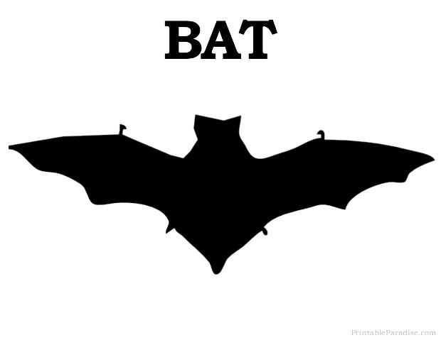 620x479 Printable Bat Silhouette