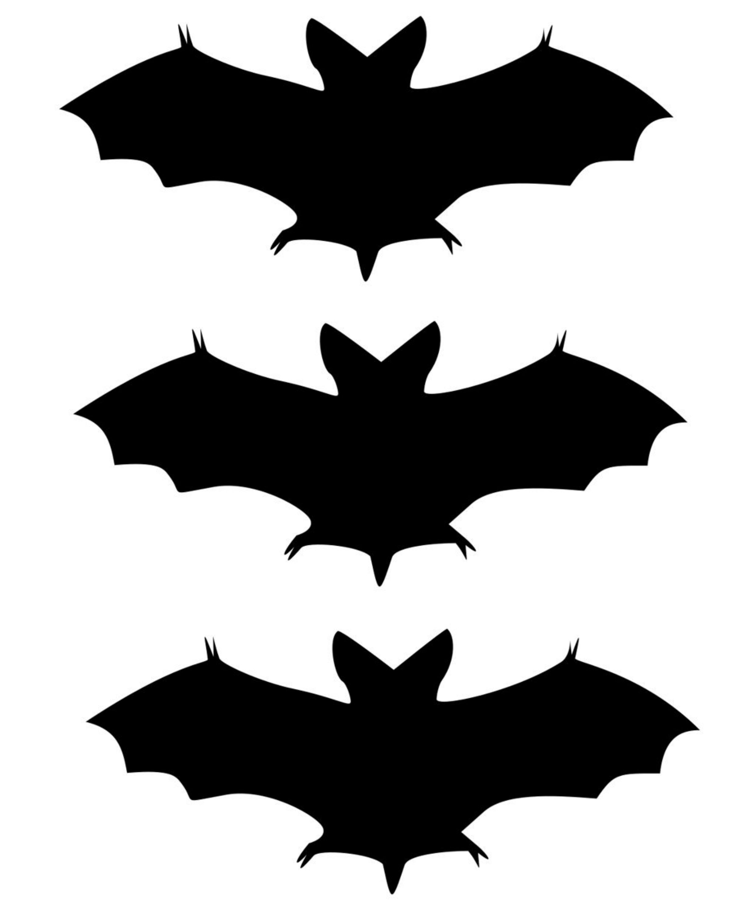 This is a graphic of Printable Bats throughout small