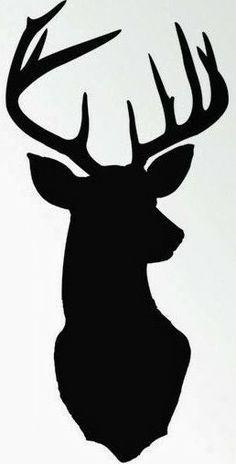 236x464 Ever Popular Free Printable Deer Head Silhouette