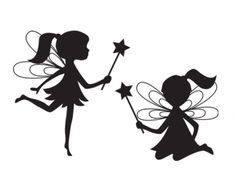 picture regarding Free Printable Fairy Silhouette titled Printable Fairy Silhouette at Absolutely free for