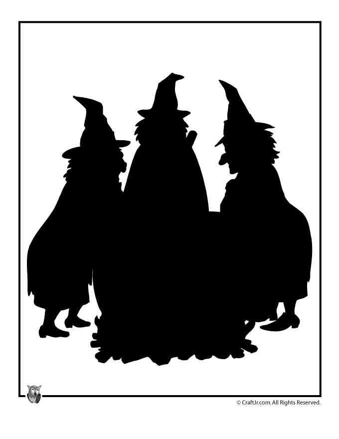 680x880 352 Best Halloween Silhouettes Images On Halloween