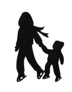 236x301 Kids Silhouette Clipart