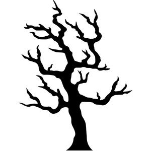 300x300 Dry Tree Silhouette, Silhouette Design And Crafts