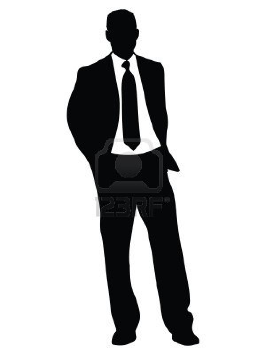 900x1200 Professional And Handsome Businessman Silhouette Vector Free