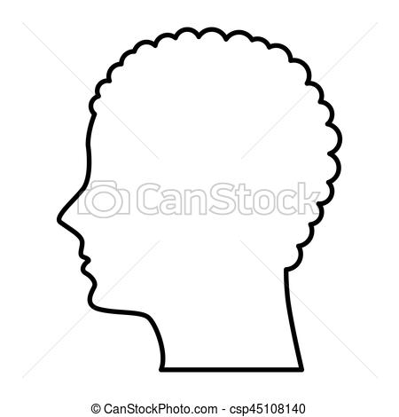 450x470 Male Profile Silhouette Icon Vector Illustration Design Eps Vector