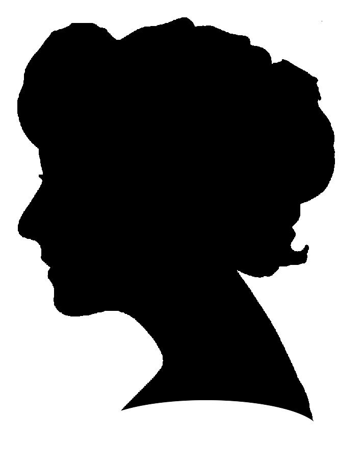 712x909 Free Female Profile Silhouette, Hanslodge Clip Art Collection
