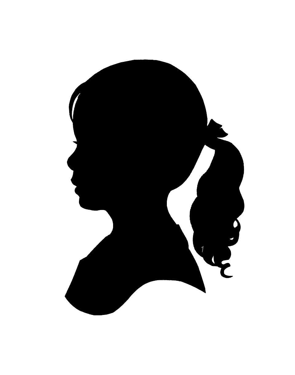 960x1218 Unique Woman Profile Silhouette Clipart Images