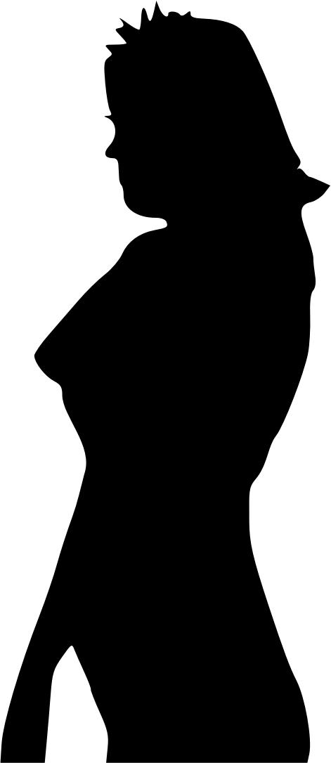 471x1086 Women Silhouette Profile Icons Png