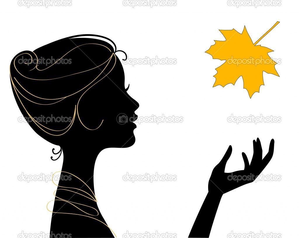 1024x815 Female Profile Silhouette