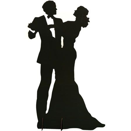 450x450 Dancing Couple Silhouette Kit Prom Dancing Couple