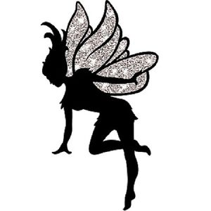 300x300 Neverland Fairy Silhouette Cut Out Peter Pan Play Theater