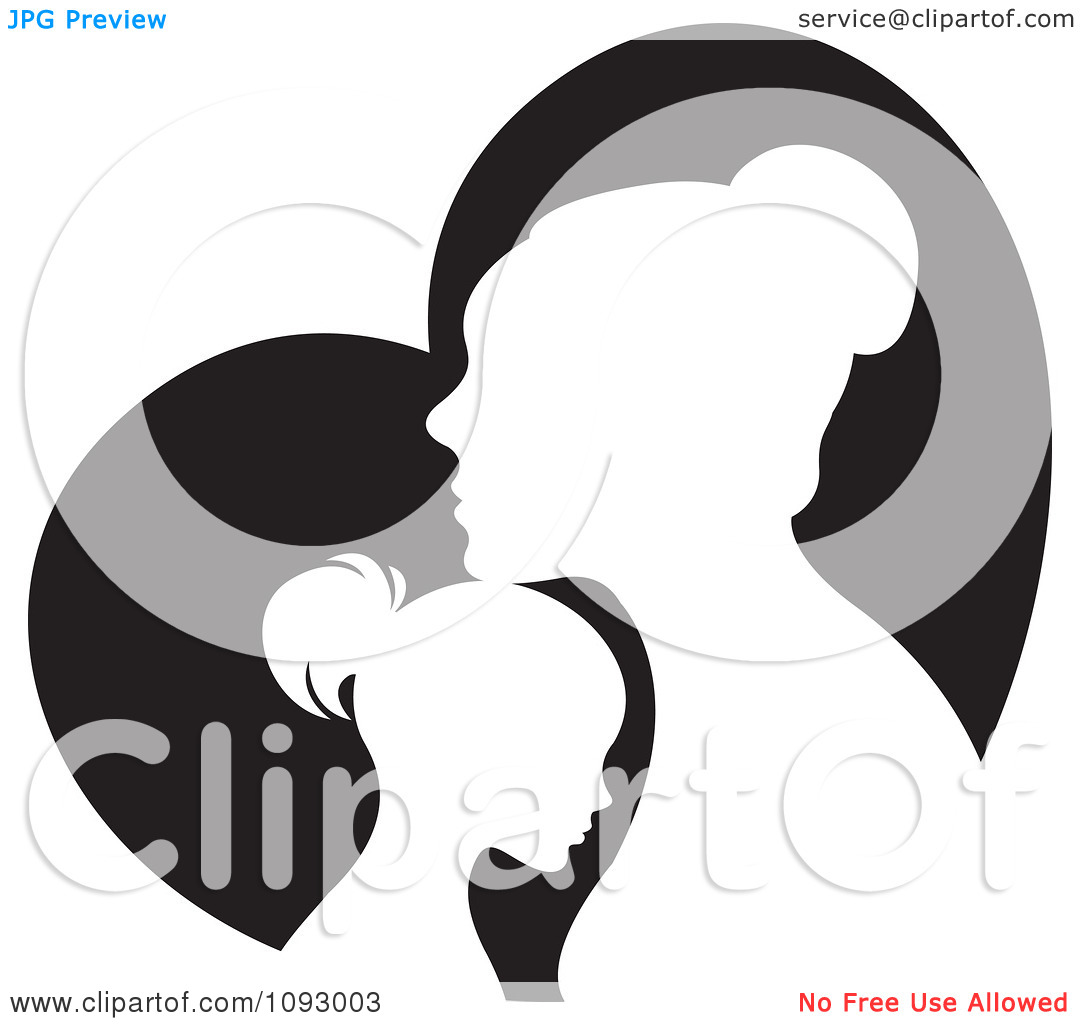 1080x1024 Mother Silhouette Clip Art Clipart Panda