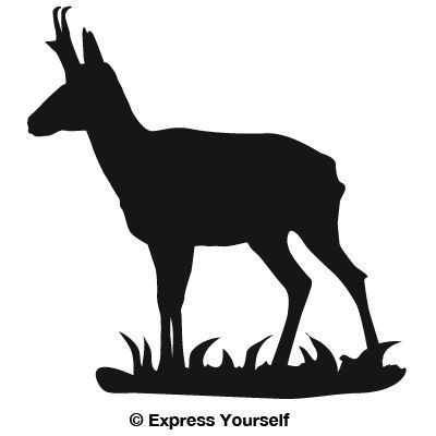 400x400 Image Result For Silhouette Antelope Silhouette Pics