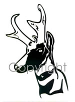 150x204 Silhouette Hunting Decals Amp Stickers