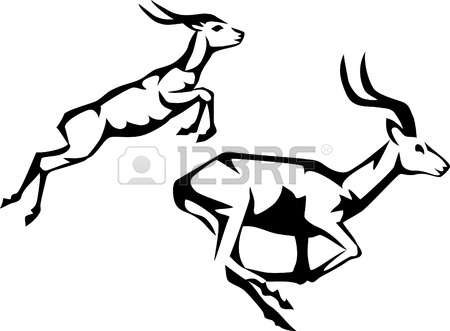 450x331 Antelope Clipart