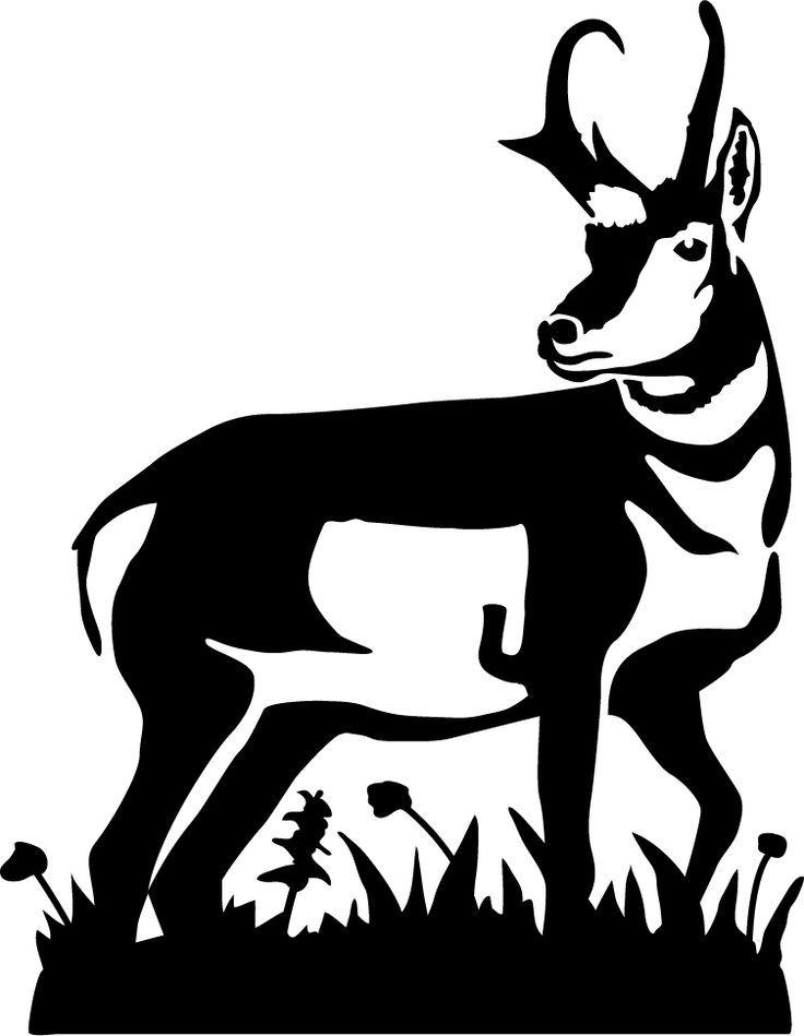 736x949 Pronghorn Antelope Clipart