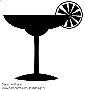 335x355 Drink Silhouette Clipart