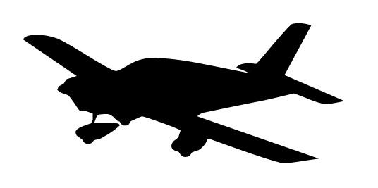 536x267 Propeller Plane Clipart