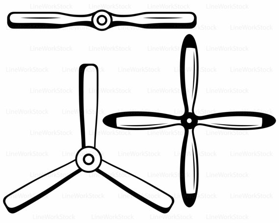 570x456 Aircraft Propeller Svgpropeller Clipartpropeller Svgpropeller