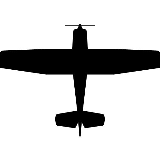 512x512 Cessna 172 Silhouette