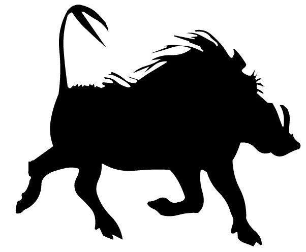 602x496 Warthog In Puddle. Wild Boar In Mud. African Pig. Wild Animal
