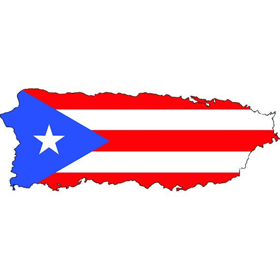 570x570 Puerto Rico Rican Flag Map Caribbean San Juan Island.svg Eps Png