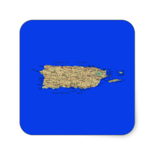 307x307 San Juan Puerto Rico Map Gifts On Zazzle