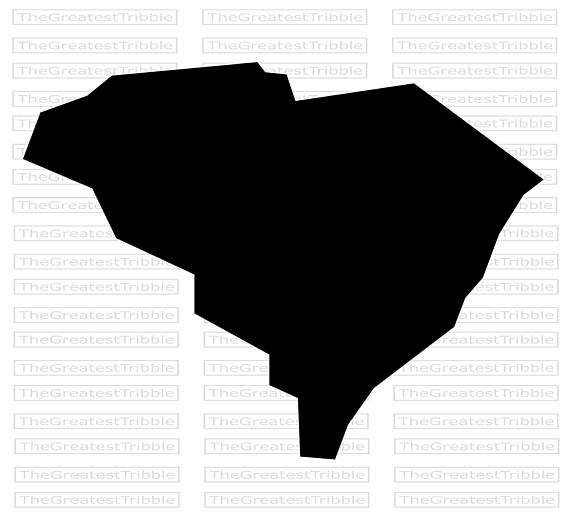 570x519 South Carolina State Map Svg Png Jpg Vector Graphic Clip Art South