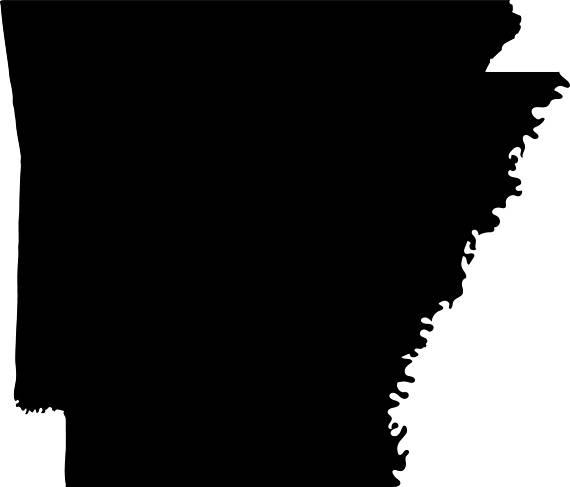 570x487 Arkansas Vector State Clipart Arkansas Svg State Png
