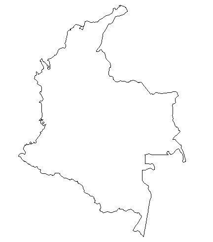 432x490 Geography Colombia Map, Colombia And Tattoo