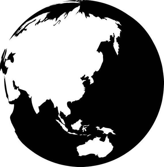 570x579 Globe Map Svg Globe Map Vector Globe Map Silhouette