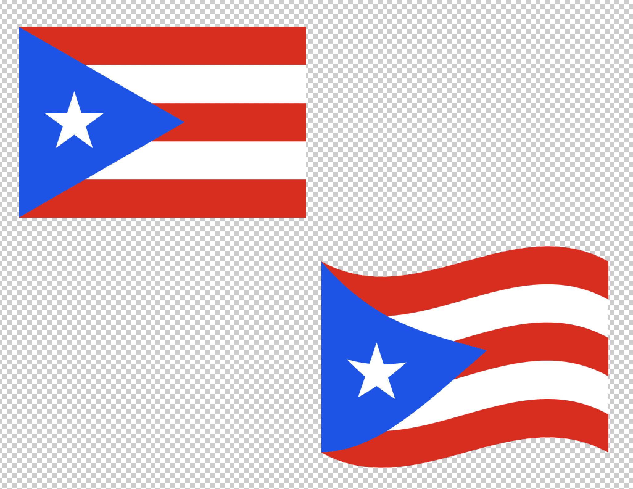 2052x1586 Puerto Rico Flag Svg Vector Clip Art