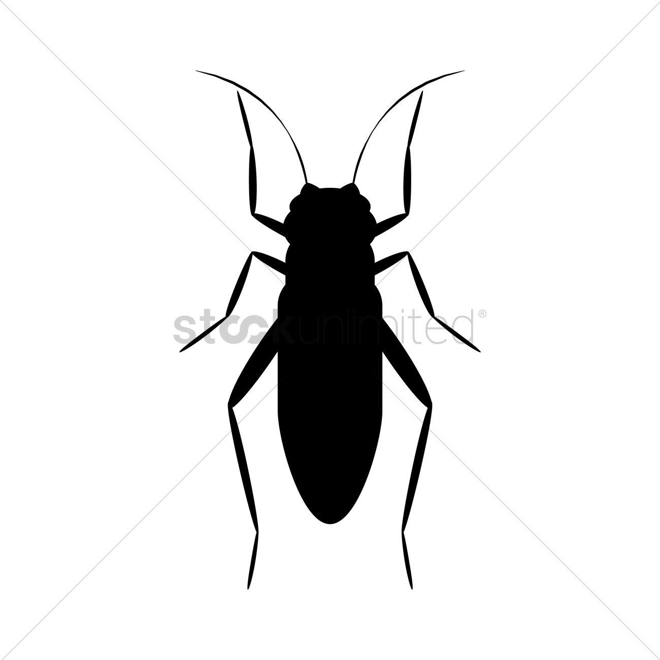 1300x1300 Cricket Silhouette Vector Image