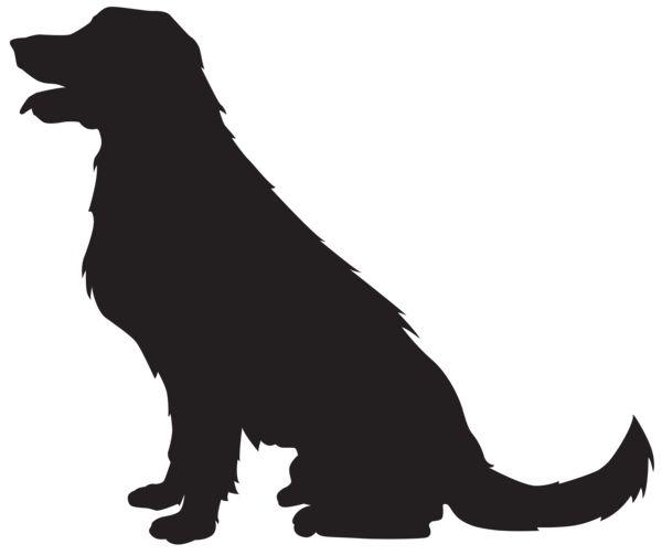 Pug Silhouette Clip Art
