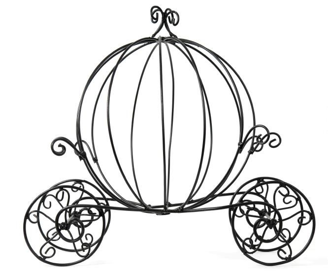Pumpkin Carriage Silhouette