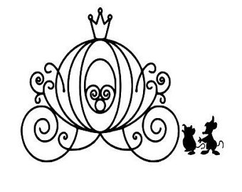 Pumpkin Carriage Silhouette At Getdrawingscom Free For Personal