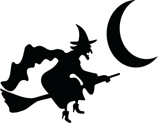 620x481 Witch Silhouette Template This Pumpkin Carving Template