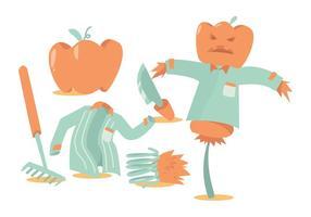 286x200 Pumpkin Patch Free Vector Art
