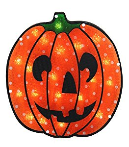 263x300 Sienna Lighted Holographic Jack O' Lantern Pumpkin