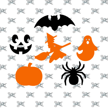 450x450 Pumpkin Silhouette Clipart Witch Face