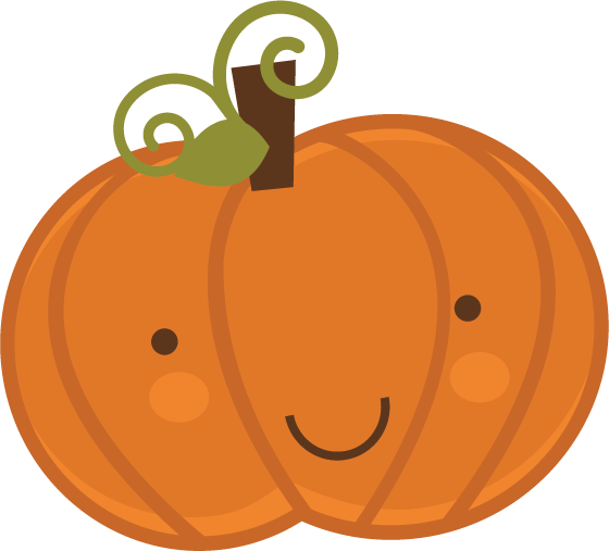 560x507 Cute Pumpkin Clipart Pumpkin Svg Scrapbook Cut File Cute Clipart
