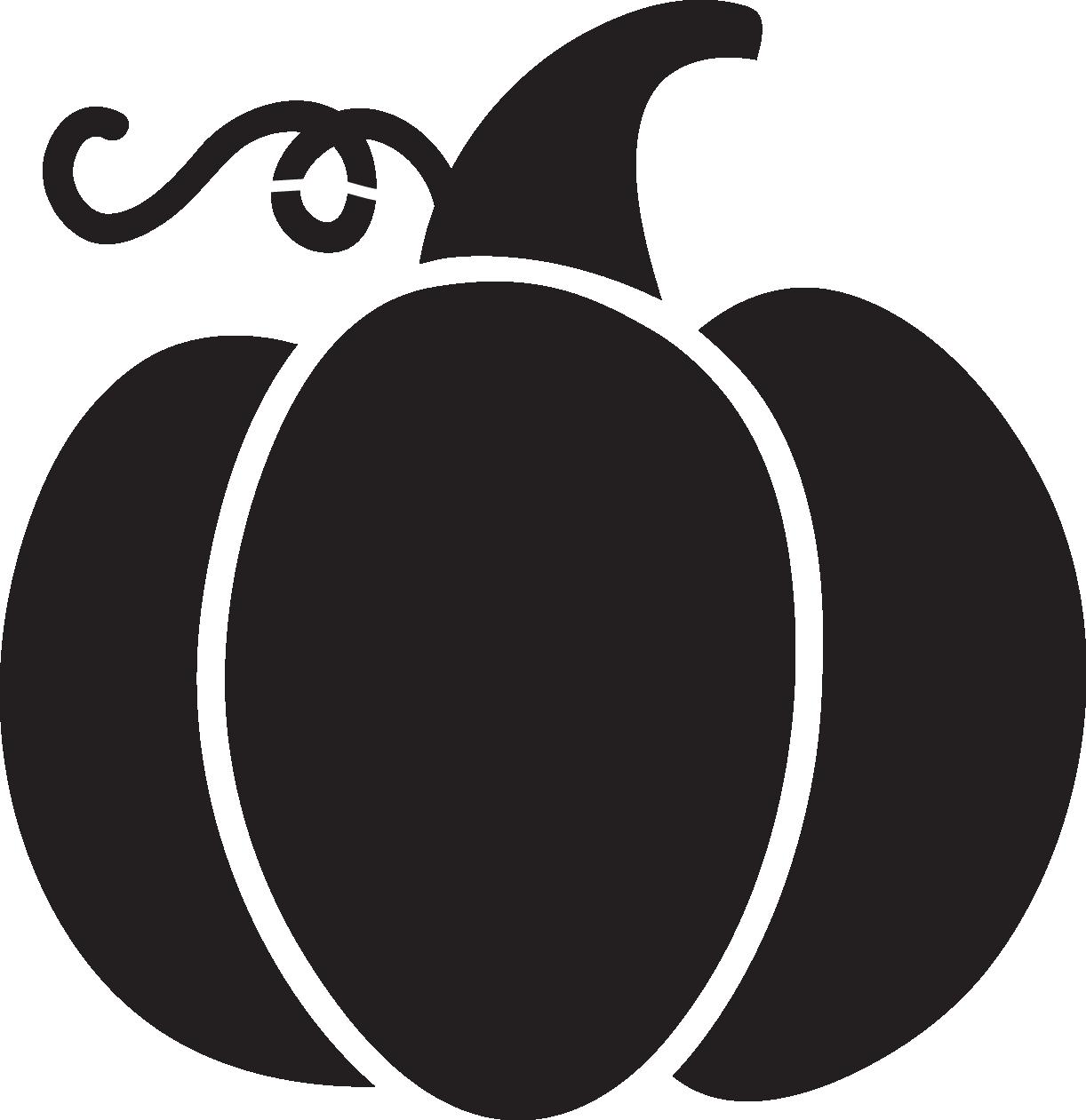 Pumpkin Silhouette Png