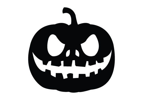 500x350 Pumpkin Silhouette Vector For Free Download Comes With Png, Jpeg