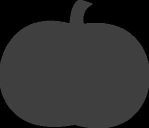 298x255 Pumpkin Clipart Silhouette