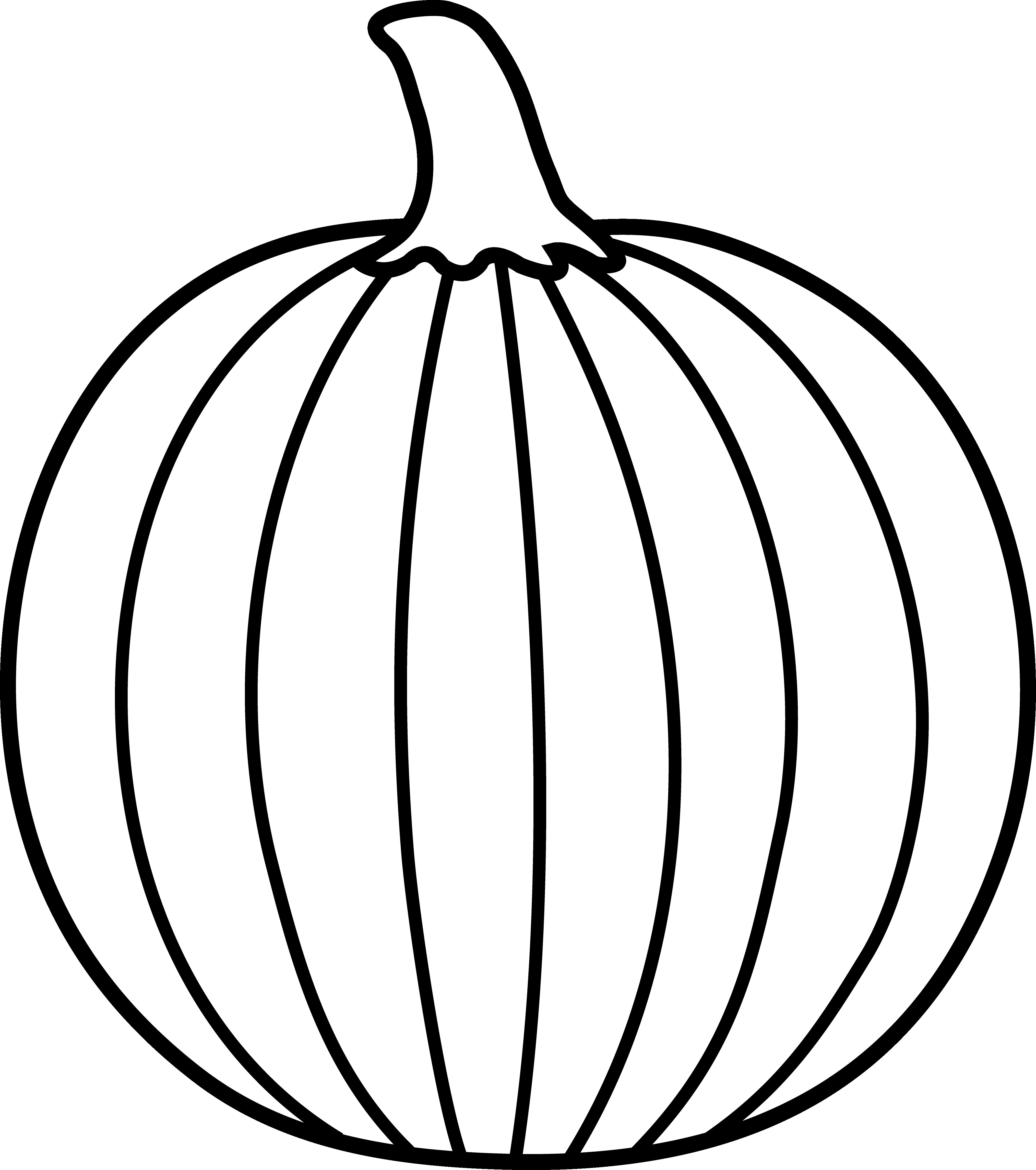 4057x4580 Pumpkins With Leaves Black Silhouette On White Background Vector
